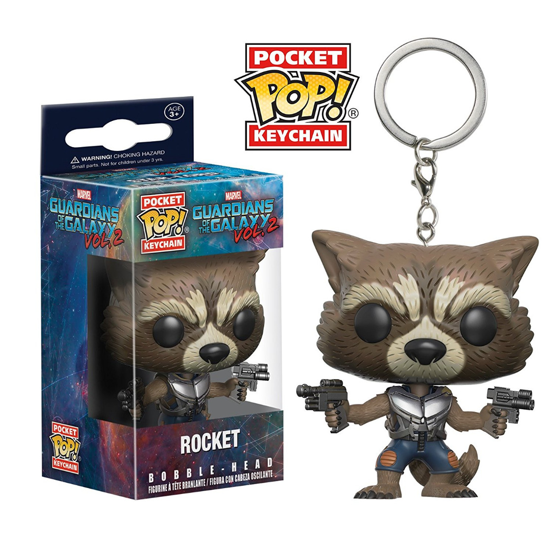 Pocket POP! Keychain Marvel Guardians of the Galaxy Vol 2 Rocket 4 cm