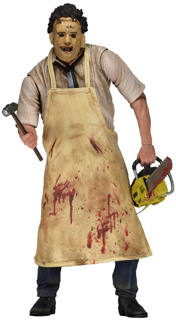 Action Figure Texas Chainsaw Massacre Retro  40th Anniversary Ultimate