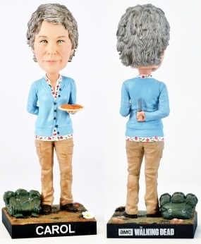 Royal Bobbles - The Walking Dead: Carol Bobble Head Cold Resin 20 cm