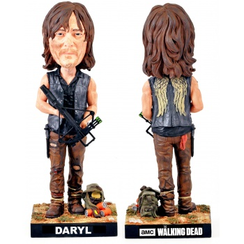 Royal Bobbles - The Walking Dead: Daryl Dixon Bobble Head Cold Resin 20 cm
