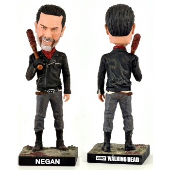 Royal Bobbles - The Walking Dead: Negan Bobble Head Cold Resin 20 cm