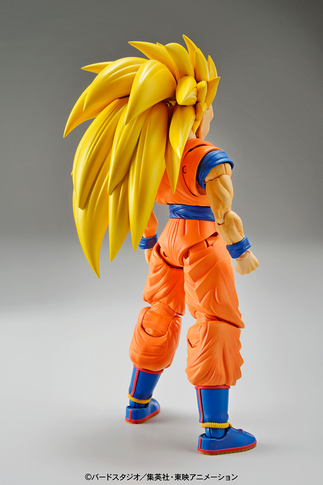 Dragonball Z Figure-rise Standard Model Kit Super Saiyan 3 Son Goku 18 cm