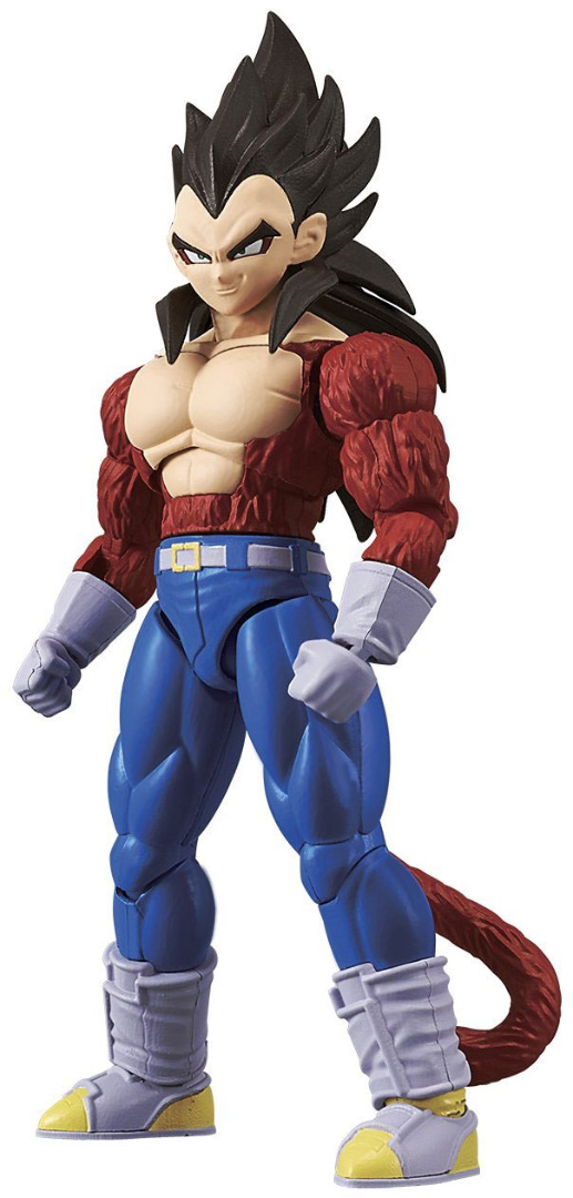 Dragonball Z Figure-rise Standard Model Kit Super Saiyan 4 Vegeta 18 cm