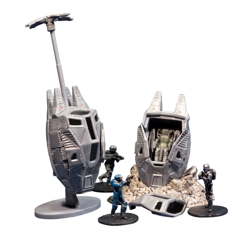 Halo Micro Ops - ODST Drop Pods