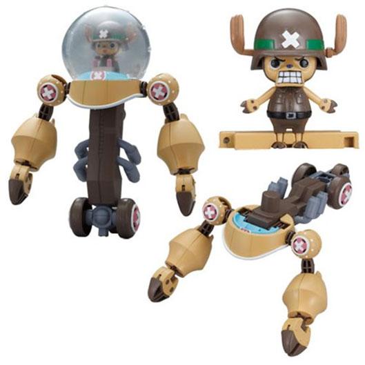 One Piece Chopper Robo Super Series Plastic Model Kit Heavy Armor 10 cm