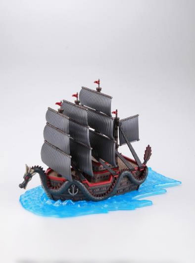 One Piece Grand Ship Collection Plastic Model Kit Dragon's Ship 15 cm