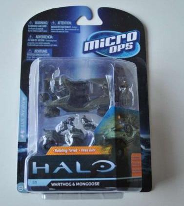 Halo Micro Ops - Warthog & Mongoose