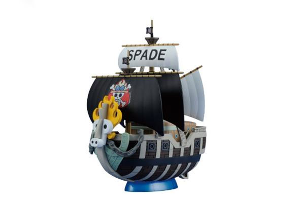 One Piece Grand Ship Collection Plastic Model Kit Spade Pirates Ship 15 cm