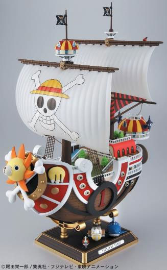 One Piece Grand Ship Collection Model Kit Thousand Sunny New World 30 cm