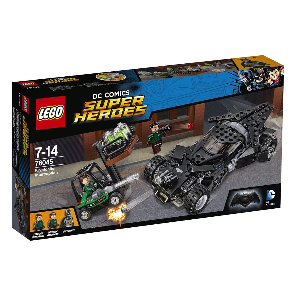 LEGO® DC Universe Super Heroes™ Kryptonite Interception