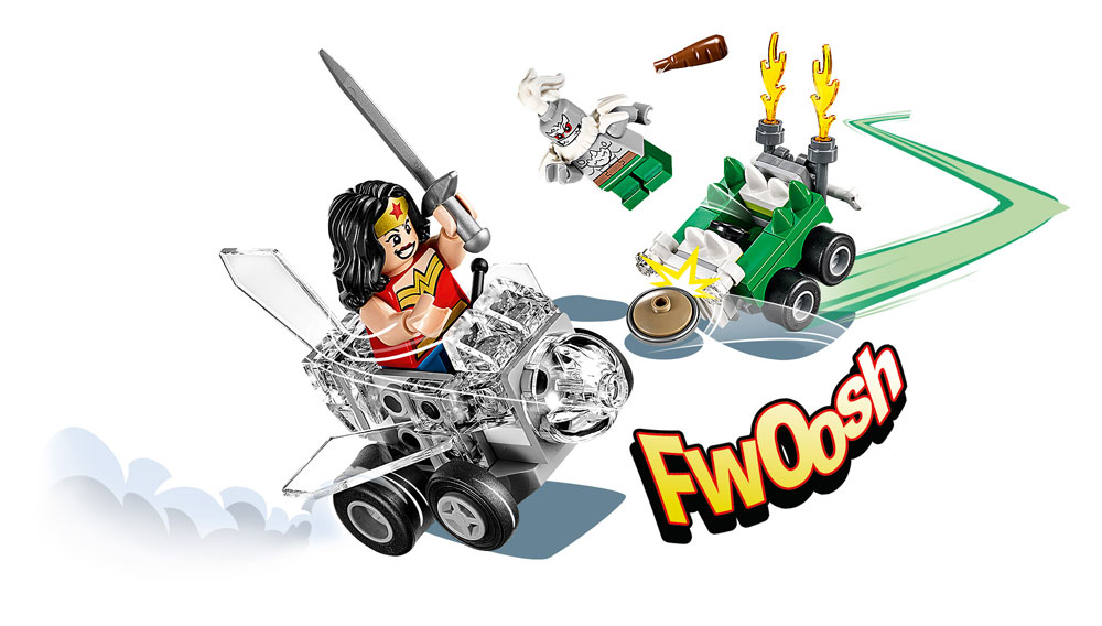 LEGO® DC Universe Super Heroes™ Mighty Micros Wonder Woman™ vs. Doomsday™