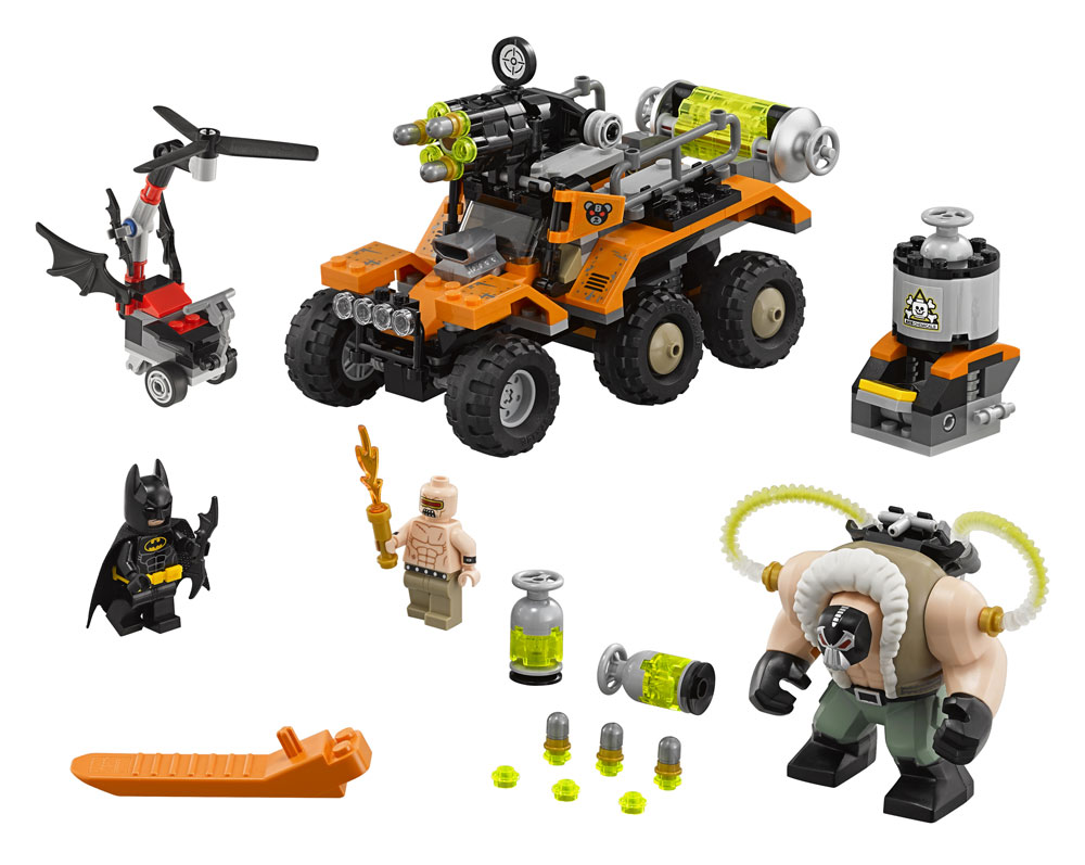 The LEGO® Batman Movie™ Bane™ Toxic Truck Attack