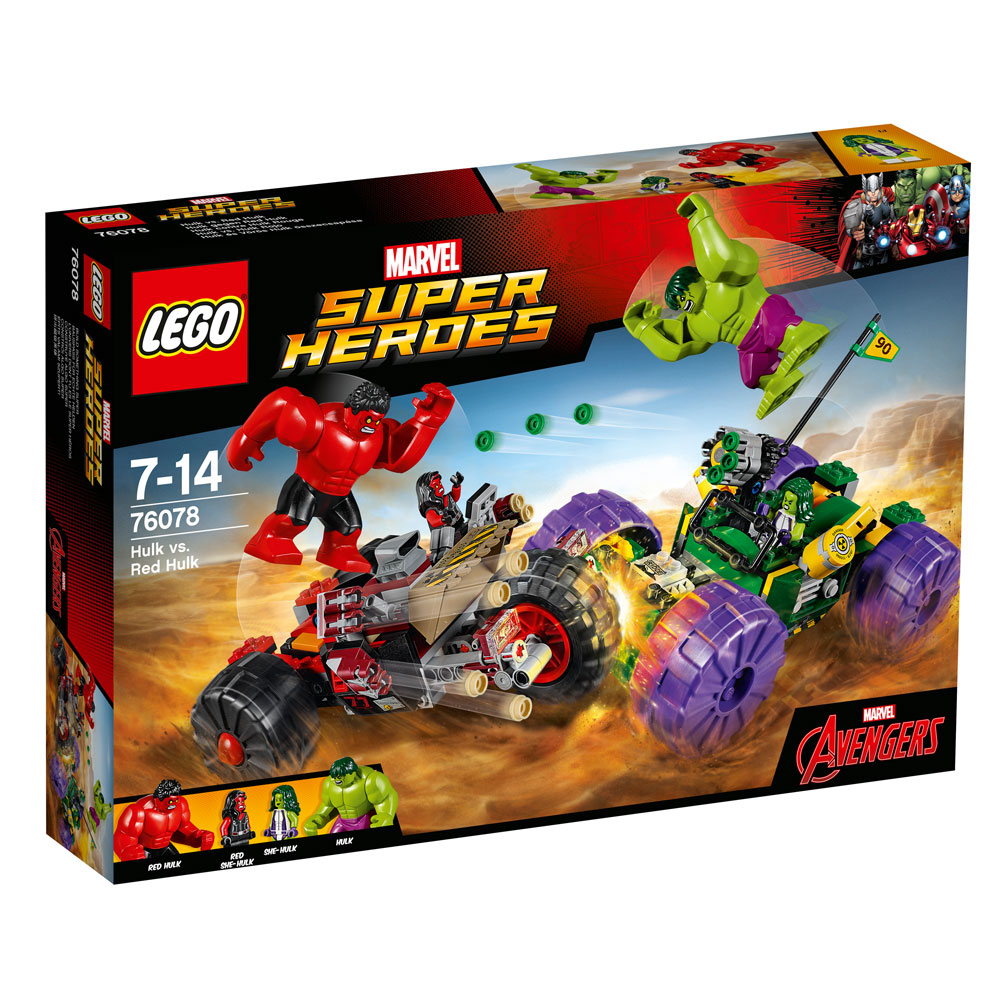 LEGO® Marvel Super Heroes™ Avengers Hulk vs. Red Hulk