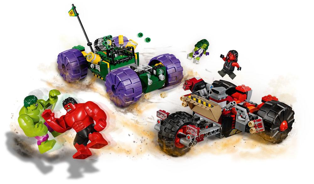 LEGO® Marvel Super Heroes™ Avengers Hulk vs. Red Hulk
