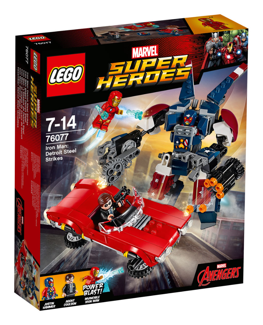 LEGO® Marvel Super Heroes™ Avengers Iron Man Detroit Steel Strikes