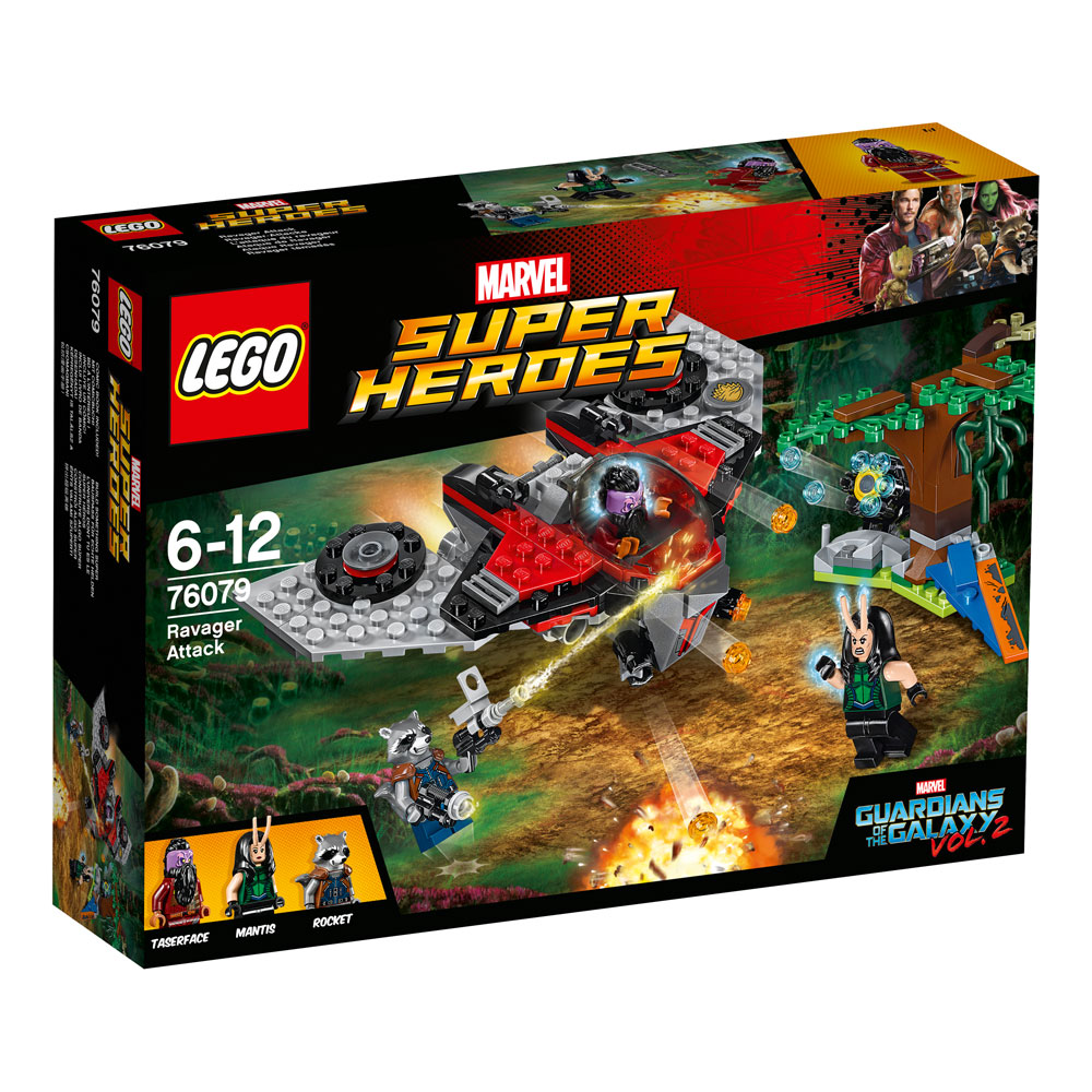 LEGO® Marvel Super Heroes™ Guardians of the Galaxy Vol. 2 Ravager Attack