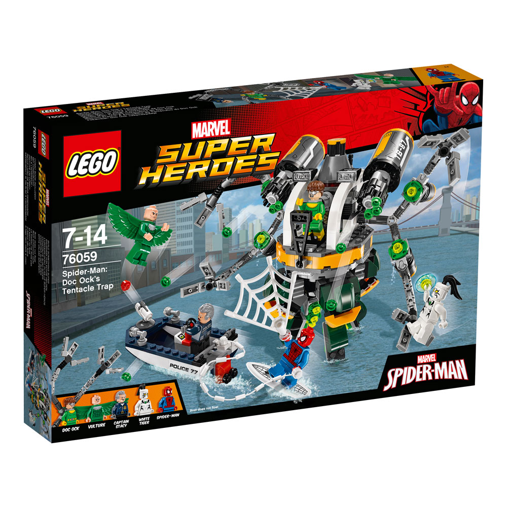 LEGO® Marvel Super Heroes™ Spider-Man Doc Ock's Tentacle Trap