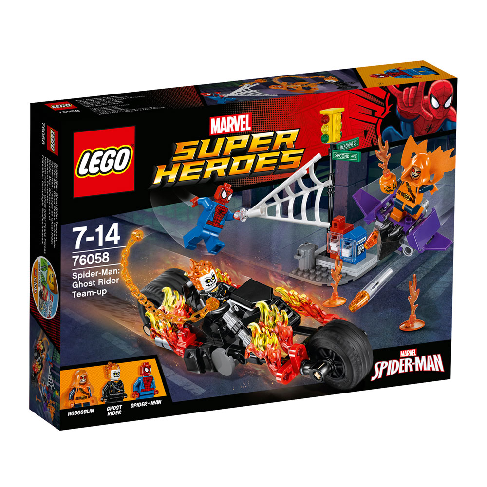 LEGO® Marvel Super Heroes™ Spider-Man Ghost Rider Team-up