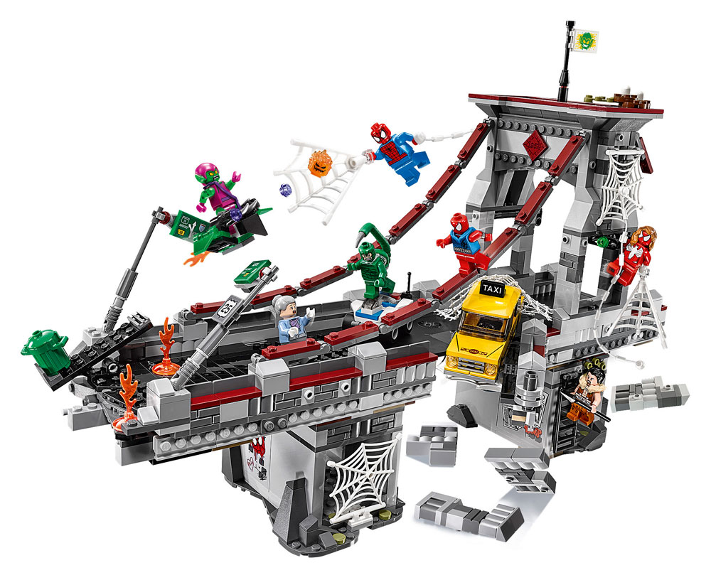 LEGO® Marvel Super Heroes™ Spider-Man Web Warriors Ultimate Bridge Battle