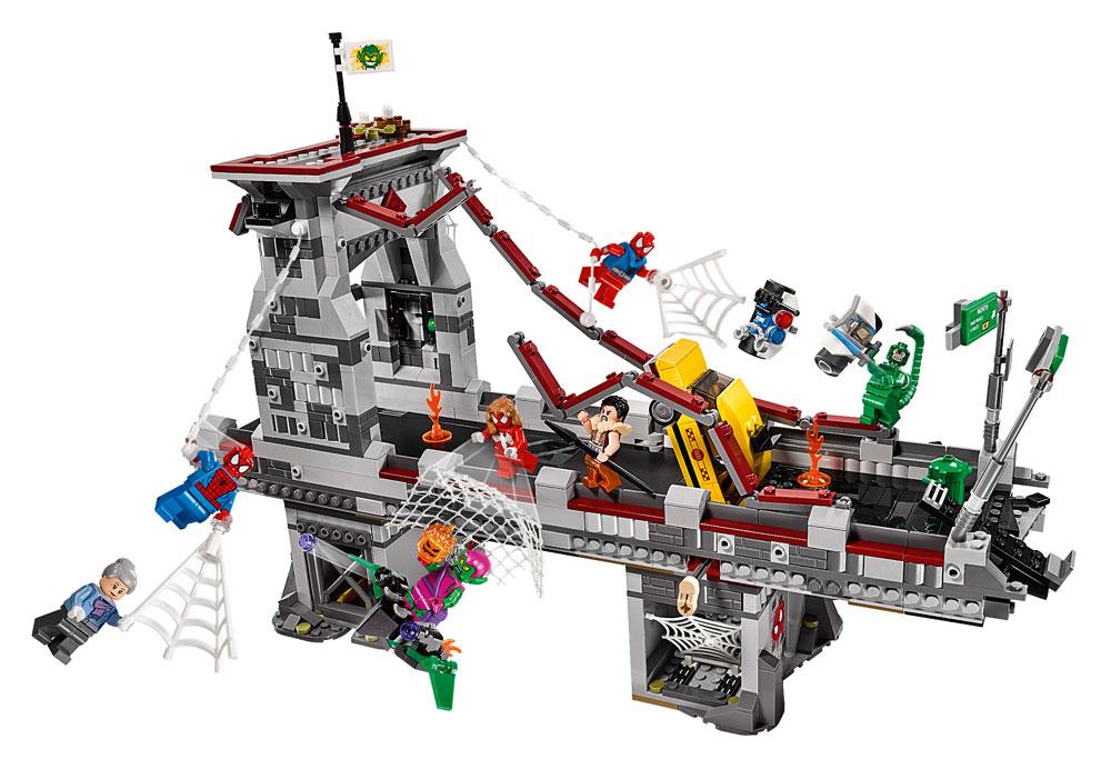 LEGO® Marvel Super Heroes™ Spider-Man Web Warriors Ultimate Bridge Battle