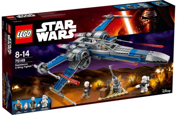 LEGO® Star Wars™ Episode VII Resistance X-Wing Fighter™