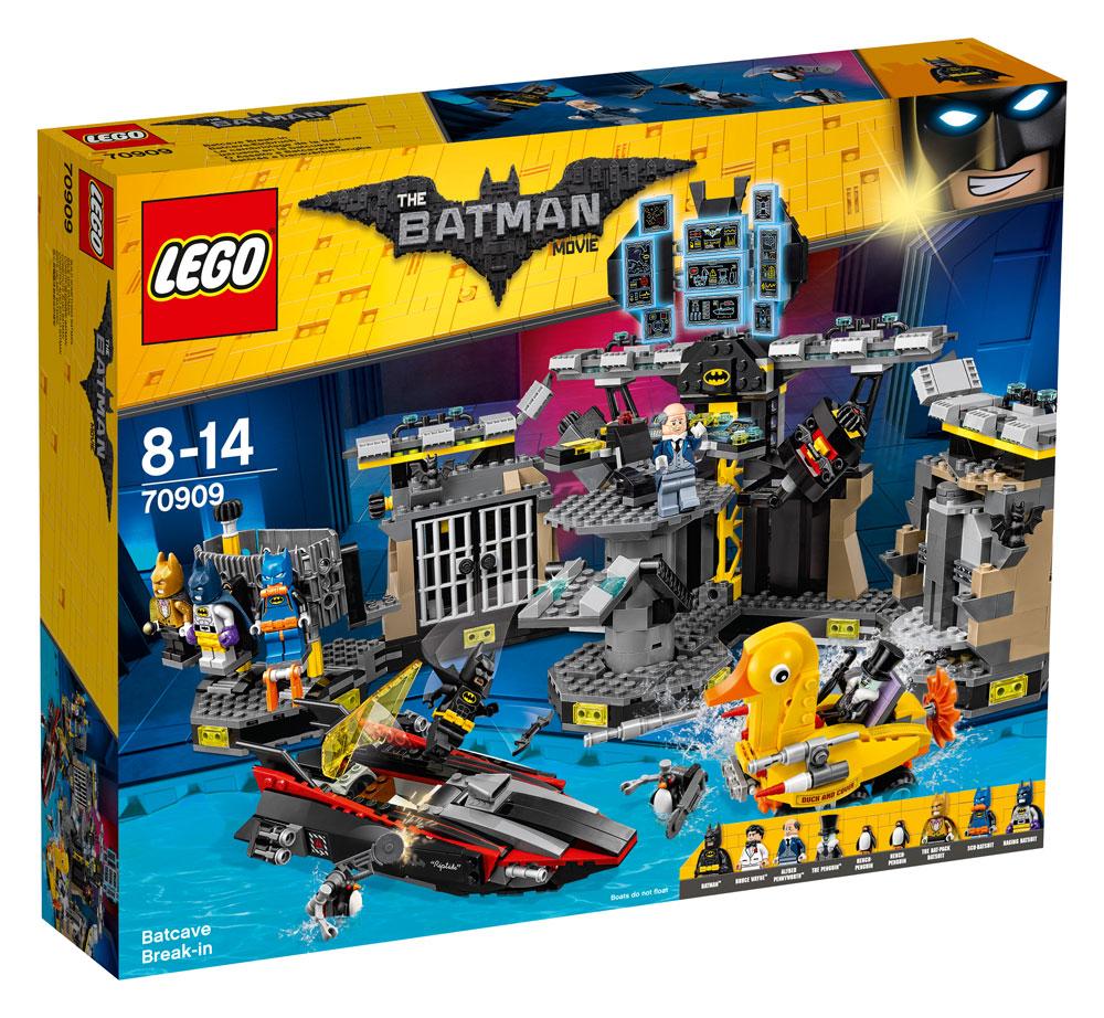 The LEGO® Batman Movie™ Batcave Break-in