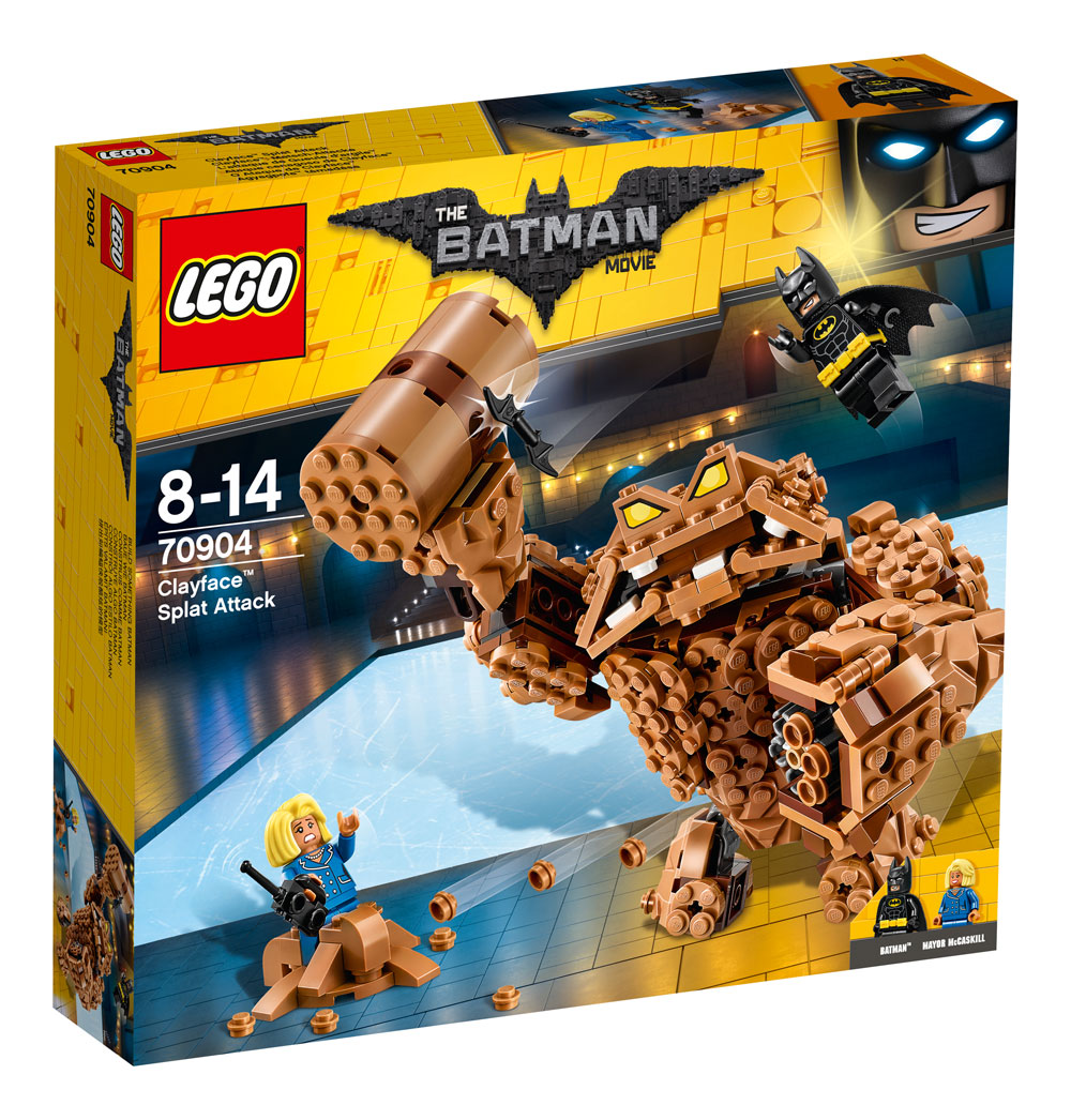 The LEGO® Batman Movie™ Clayface™ Splat Attack