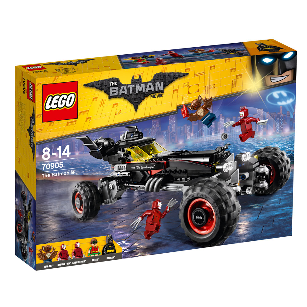The LEGO® Batman Movie™ The Batmobile