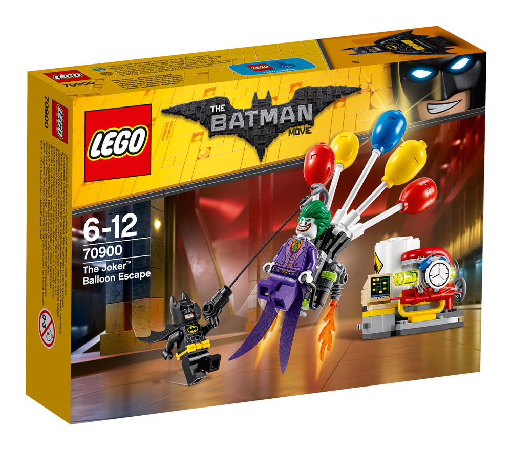 The LEGO® Batman Movie™ The Joker™ Balloon Escape