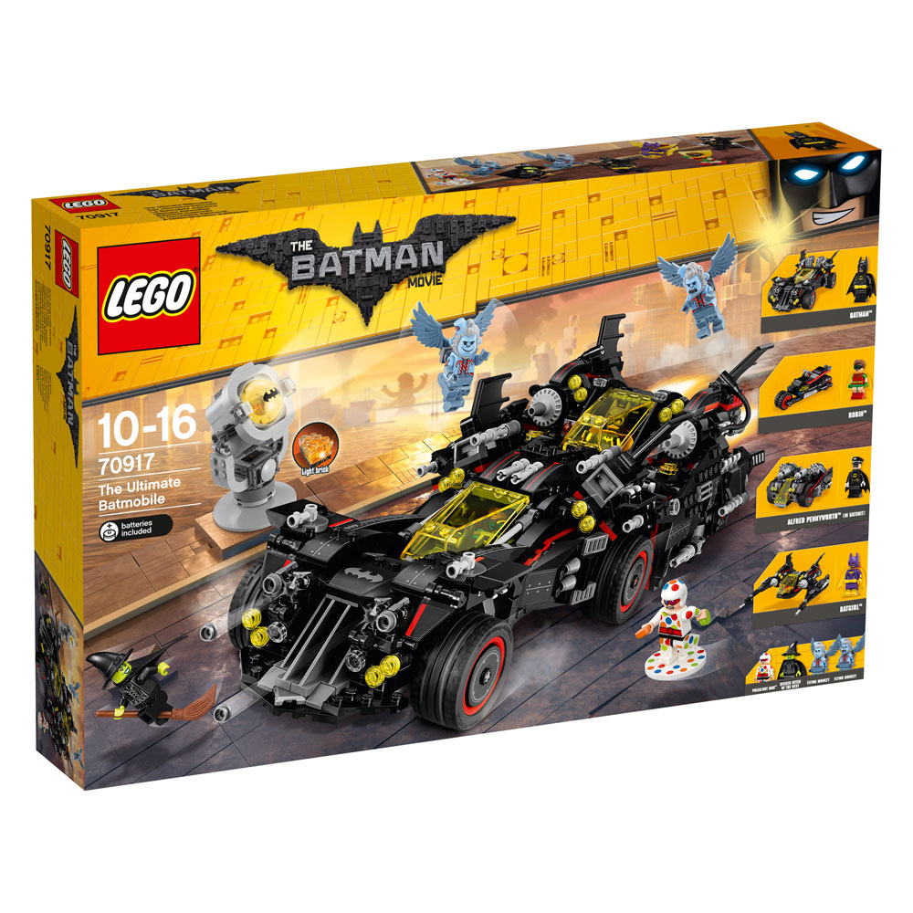 The LEGO® Batman Movie™ The Ultimate Batmobile