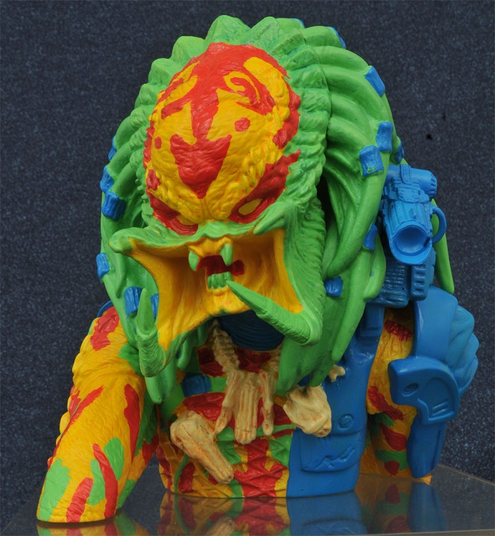 Mealheiro Busto Predator Thermal Unmasked Predator Exclusive Edition 23 cm