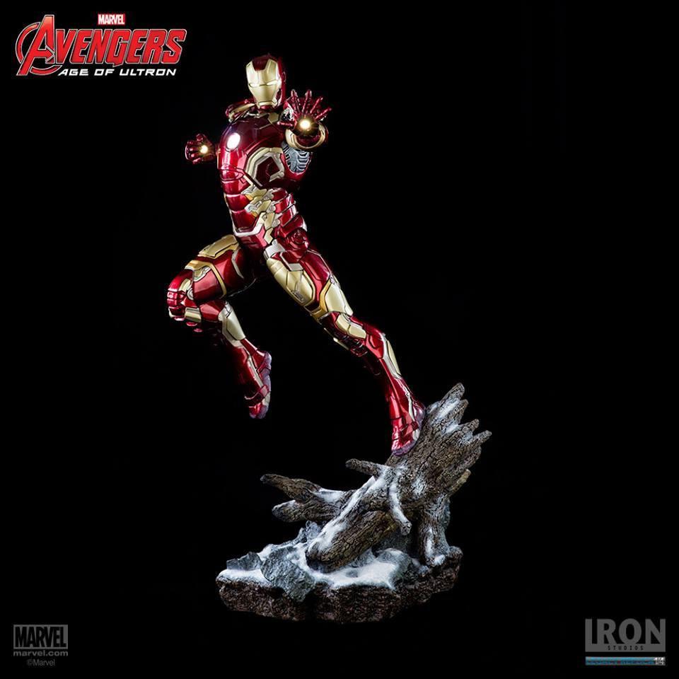 Avengers Age of Ultron Statue 1/4 Iron Man Mark XLIII 68 cm