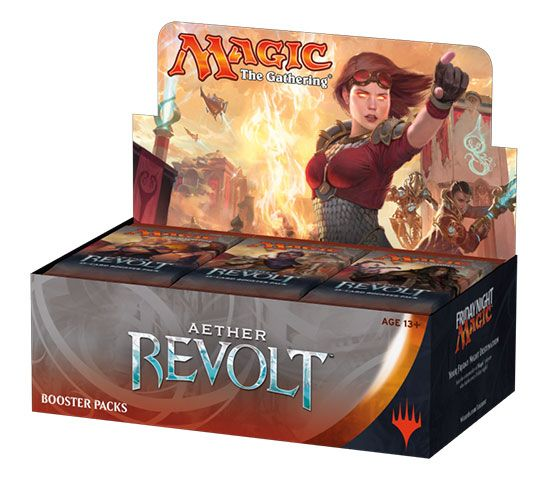Magic the Gathering Aether Revolt 36 Boosters Display English