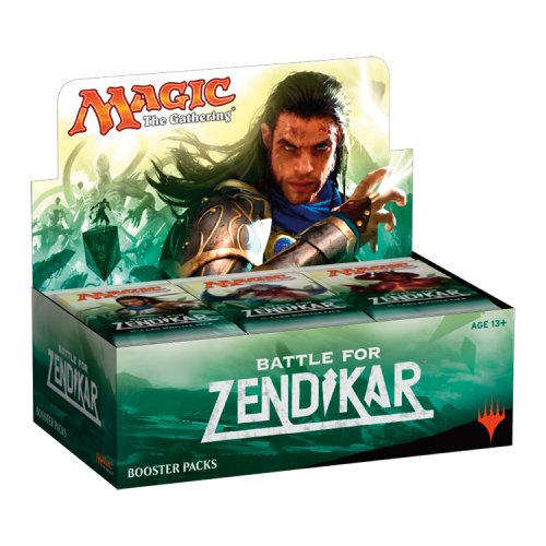 Magic the Gathering Battle for Zendikar 36 Booster Display English