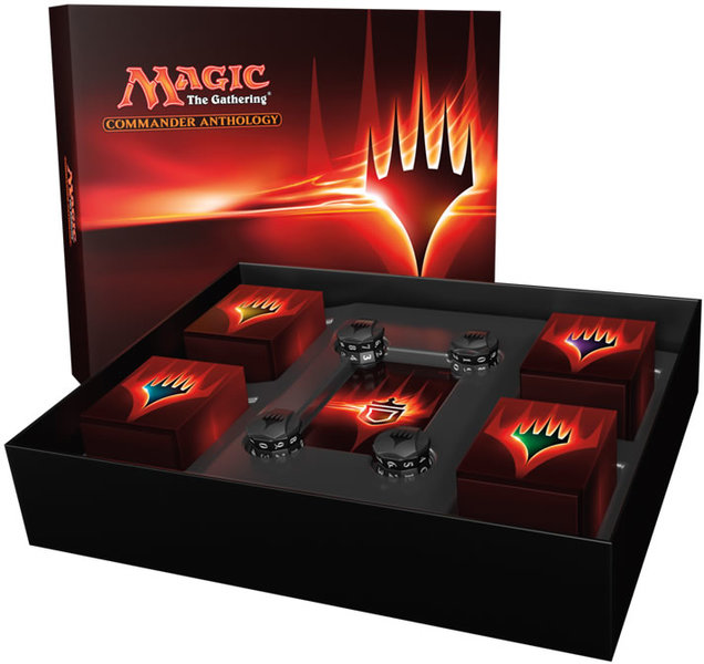 Magic the Gathering Commander Anthology English