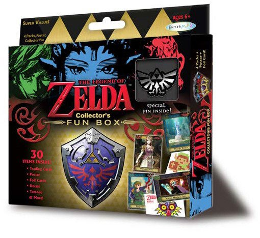 Legend of Zelda Collector's Fun Box with pin *English Version*