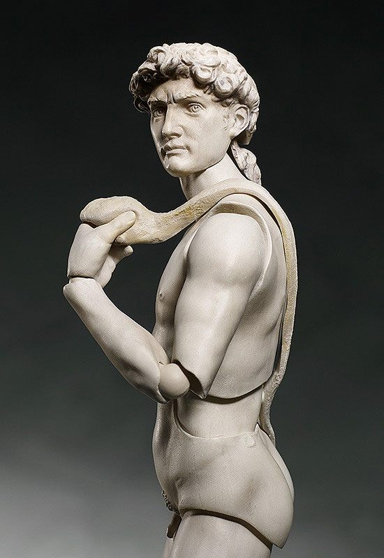 The Table Museum Figma Action Figure Davide di Michelangelo 15 cm
