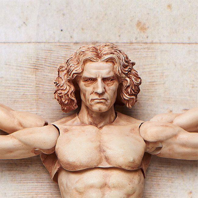 The Table Museum Figma Action Figure Vitruvian Man 16 cm