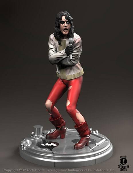Alice Cooper Rock Iconz Statue Ver. I Straightjacket 23 cm