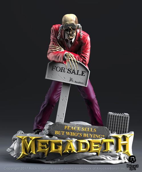 Megadeth Rock Iconz Statue