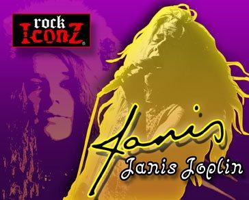 Janis Joplin Rock Iconz Statue 23 cm