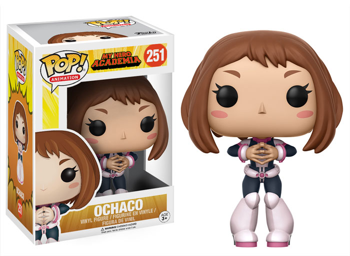 Funko POP! Animation May Hero Academy - Ochaco Vinyl Figure 10 cm