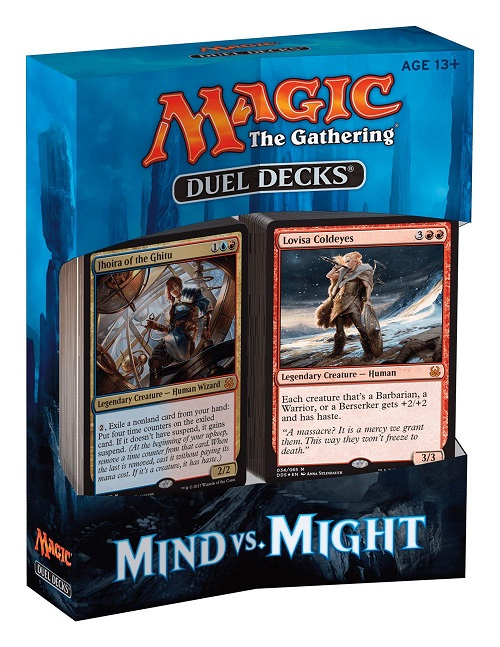 Magic the Gathering Duel Decks Mind vs. Might English
