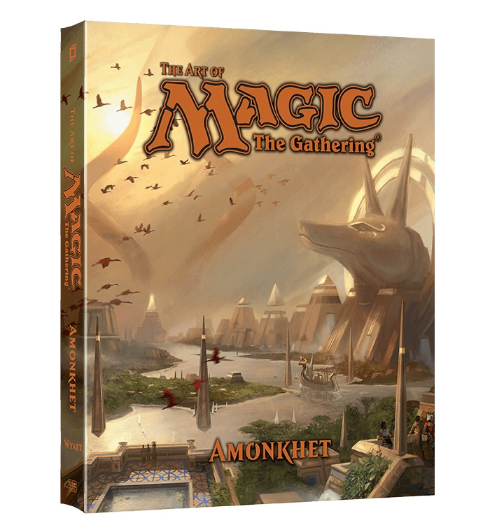 Livro Magic the Gathering The Art of Magic: The Gathering Amonkhet English