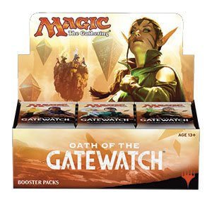 Magic the Gathering Oath of the Gatewatch 36 Boosters Display English