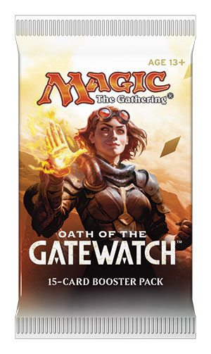 Magic the Gathering Oath of the Gatewatch Booster English