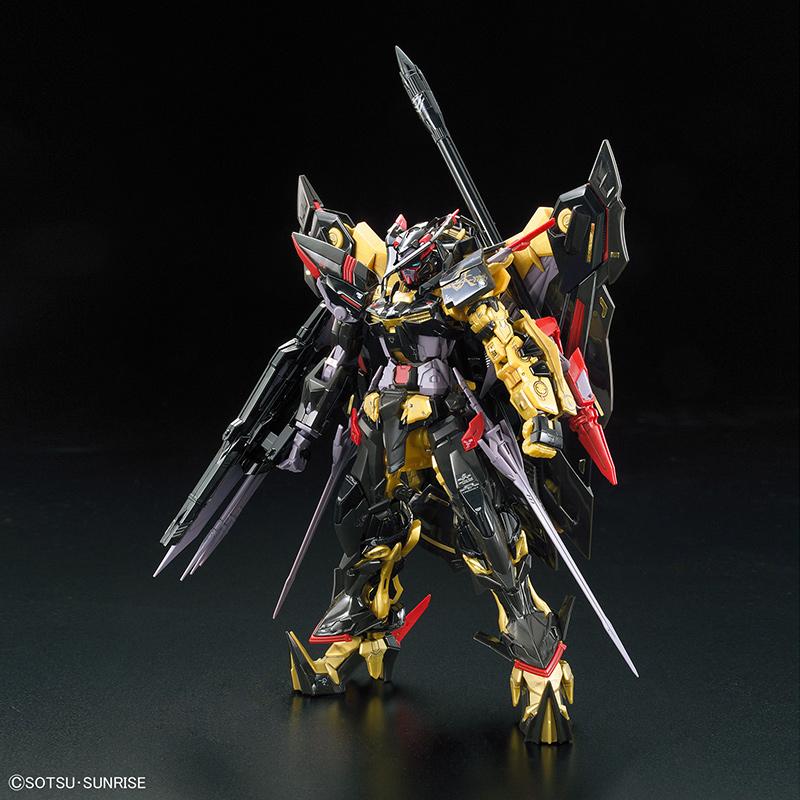 RG Real Grade Gundam Astray Gold Frame Amatsu 1/144