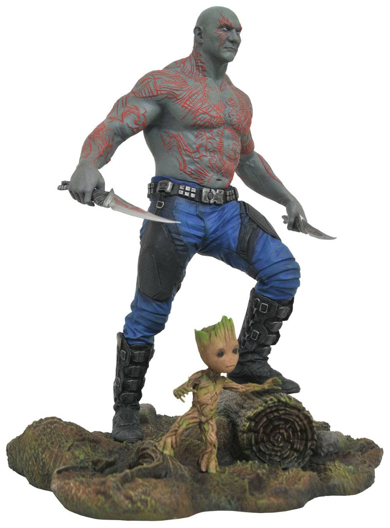 Guardians of the Galaxy Vol. 2 Marvel Gallery PVC Statue Drax & Baby Groot