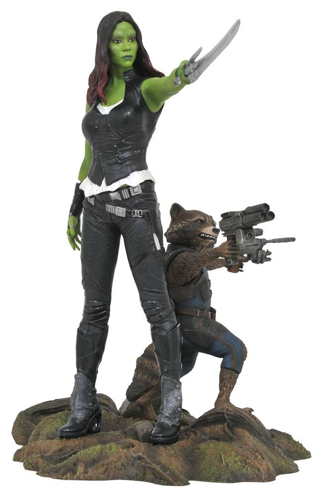 Guardians of the Galaxy Vol.2 Marvel Gallery Statue Gamora & Rocket Raccoon
