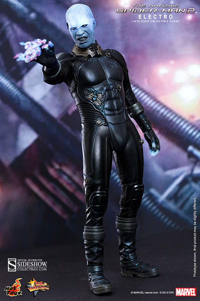 Action Figure 1/6 Scale Amazing Spider-Man Electro 30 cm